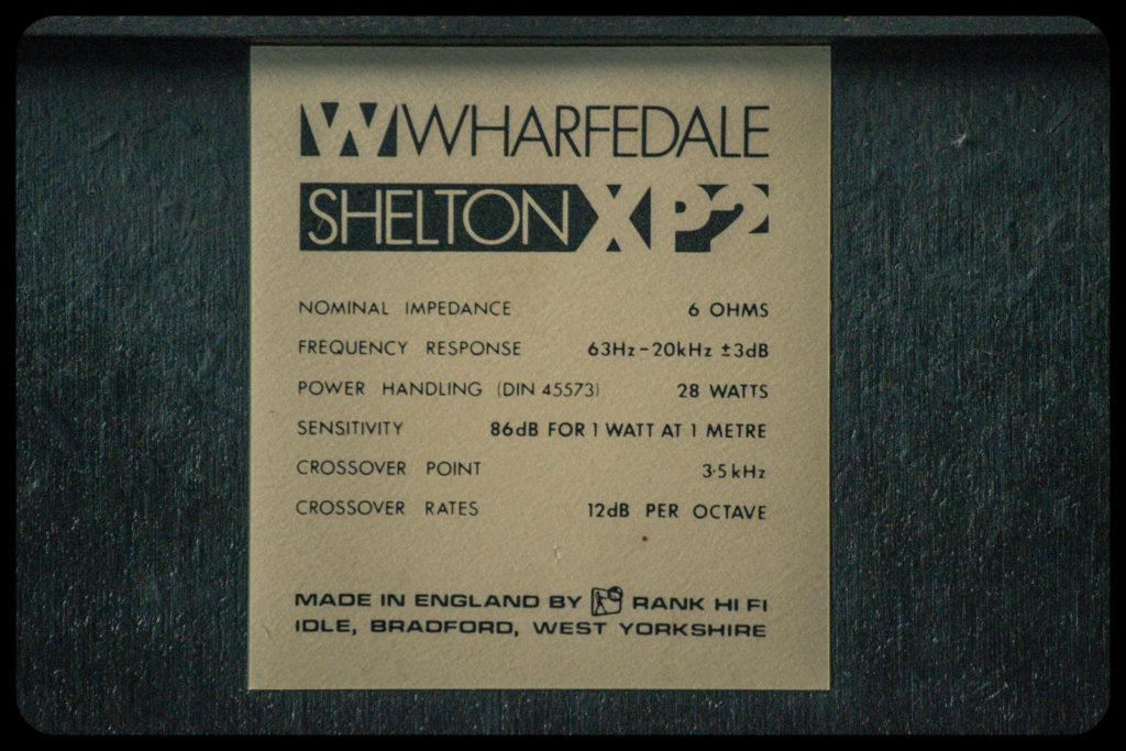 wharfedale xp2-8223