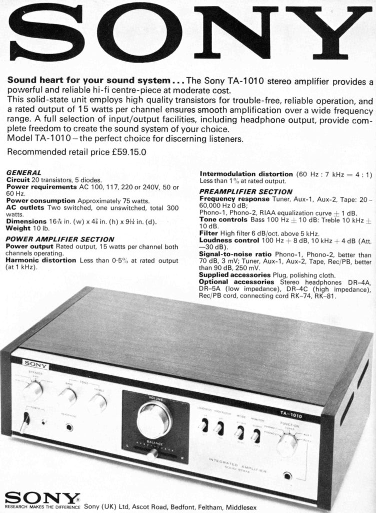 sony-ta-1010-amplifier-advert-tape-recorder-magazine-may-1970
